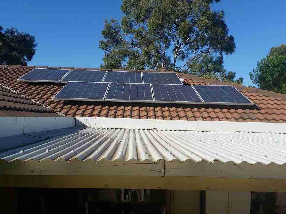 Ejemplo instalación paneles solares Cuenca