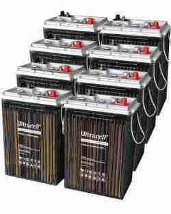 Tipos de baterias para paneles solares