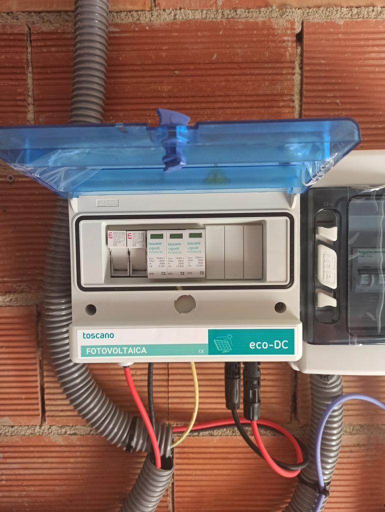 protecciones eléctricas instalación solar