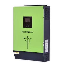 Inversor Cargador Masterpower, 5000VA-48V, Max PV 6000W regulador MPPT 80A, Rango (120VDC – 450VDC)