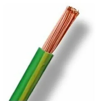 Cable tierra 6mm2 H07Z1-K metro lineal