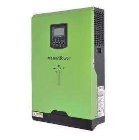Inversor Cargador Masterpower, 3000VA-24V, regulador MPPT 60A, Rango (30VDC - 115VDC) Max PV 1500W CuencaSolar