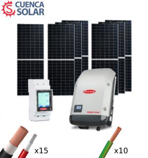 Kit Solar Autoconsumo 3000W Fronius 14000Wh/día CuencaSolar