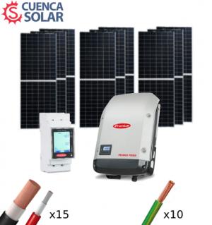 Kit Solar Autoconsumo 4000W Fronius 18000Wh/día CuencaSolar