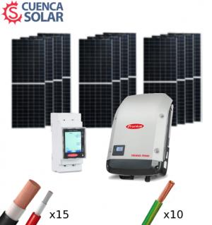 Kit Solar Autoconsumo 5000W Fronius 24000Wh/día CuencaSolar