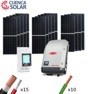 Kit Solar Autoconsumo 6000W Fronius 28000Wh/día CuencaSolar