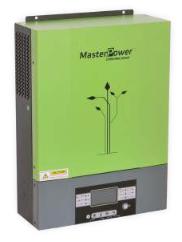 Inversor Cargador Masterpower, 5000W-48V, Max PV 4000W, regulador MPPT 80A, Rango (120VDC-450VDC)