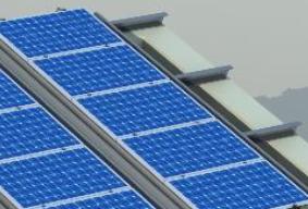 Kit de Estructura para Panel Solar Coplanar Chapa con varilla