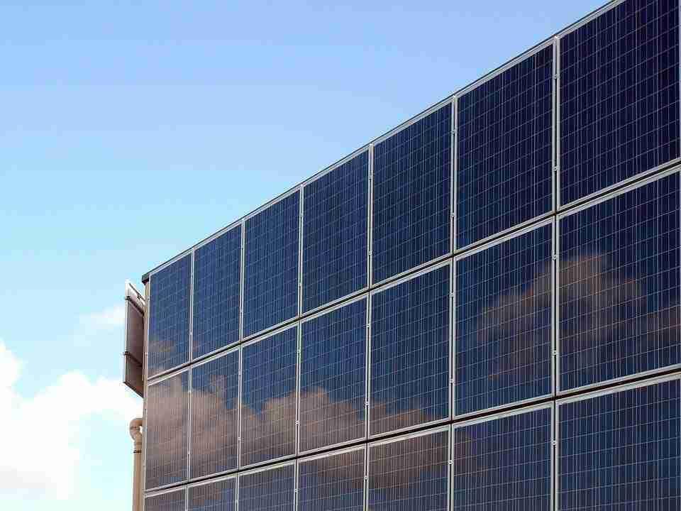 Superficie que ocupan las placas solares